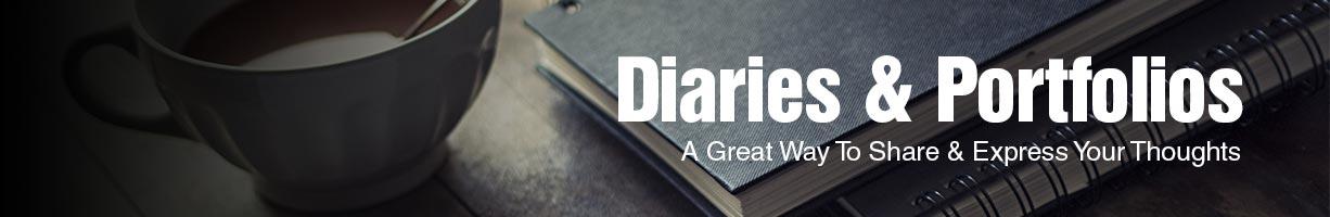 Diaries & Portfolios