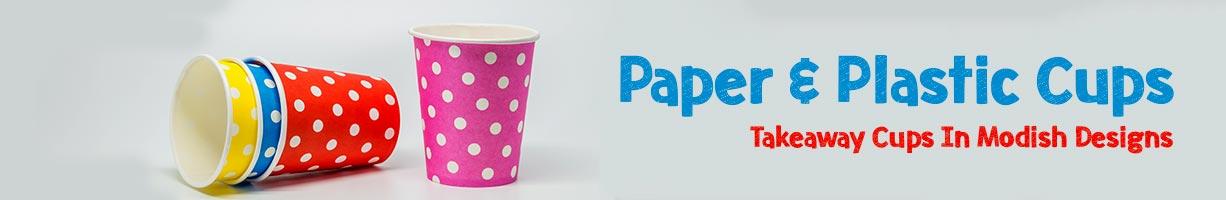 Paper & Plastic Cups