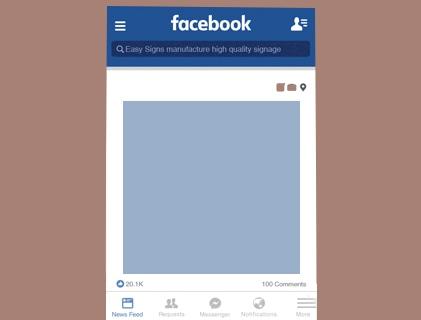 Social Media Cut-Outs & Giant Checks