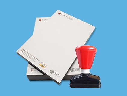 Letterhead & Office Stamps
